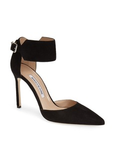 Manolo Blahnik 'Chantasta' Ankle Cuff Pump (Women)