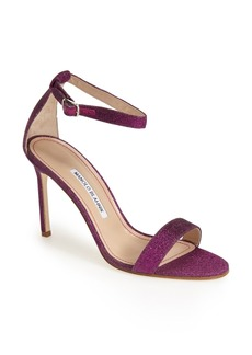 Manolo Blahnik 'Chaos' Ankle Strap Pump (Women) (Nordstrom Exclusive)