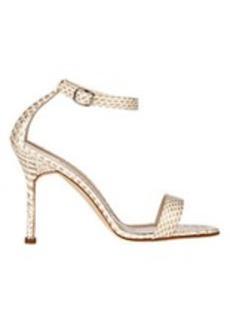 Manolo Blahnik Chaos Ankle-Strap Sandals