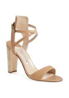 Manolo Blahnik 'Convu' Ankle Strap Sandal (Women)