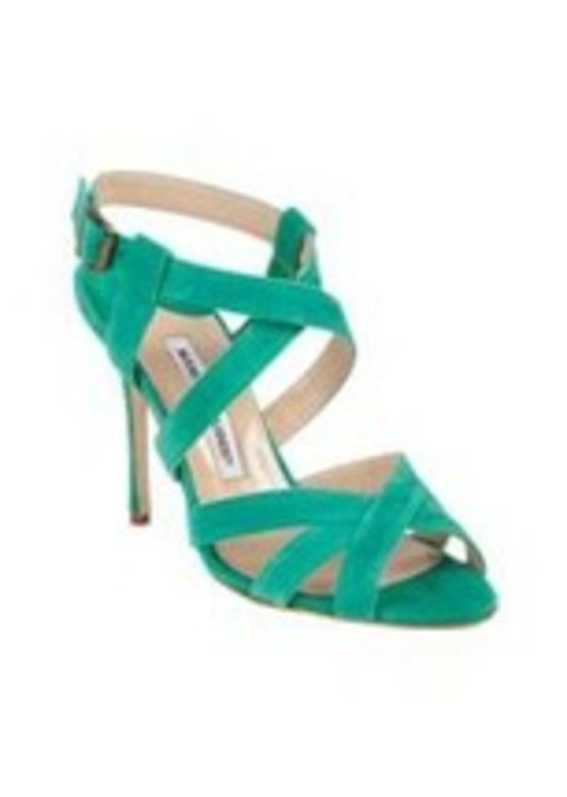 Manolo Blahnik Cricata Crisscross Sandal