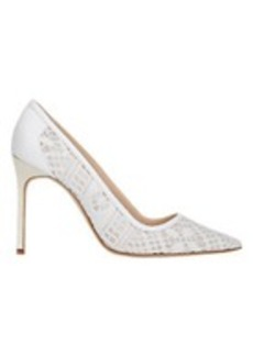 Manolo Blahnik Crochet BB Pumps