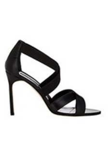 Manolo Blahnik Eleba Crisscross-Strap Sandals