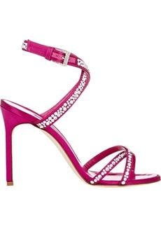 Manolo Blahnik Embellished Kolbebibi Sandals