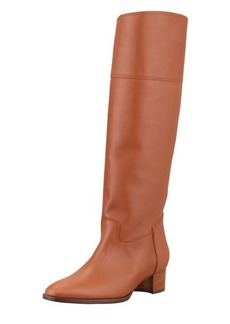 Manolo Blahnik Equestra Knee-High Boot, Luggage