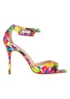 Manolo Blahnik Floral Dribbin Sandals