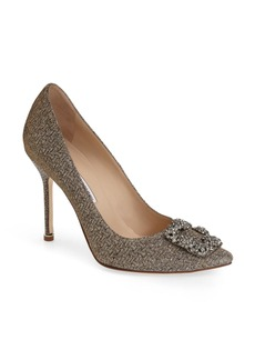 Manolo Blahnik 'Hangisi' Jeweled Pump (Women)