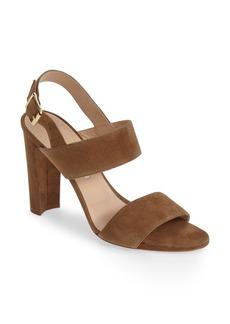 Manolo Blahnik 'Kahn' Quarter Strap Sandal (Women)