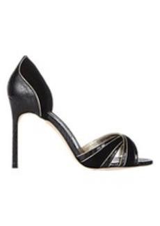 Manolo Blahnik Lanfra Crisscross-Strap Sandals