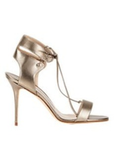 Manolo Blahnik Laramod Ankle-Strap Sandals