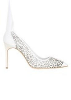 Manolo Blahnik Laser-Cut BBMI Pumps