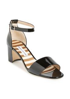 Manolo Blahnik 'Lauratomod' Ankle Strap Sandal (Women)
