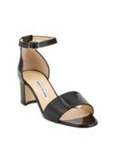 Manolo Blahnik Lauratomod Ankle-Strap Sandals