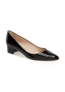 Manolo Blahnik 'Listony' Patent Leather Pump (Women)