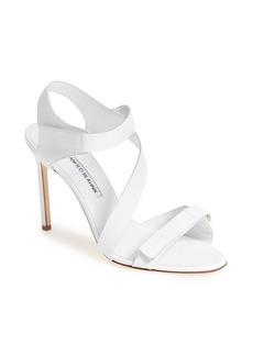 Manolo Blahnik 'Medano' Ankle Strap Sandal (Women)
