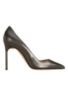 Manolo Blahnik Metallic BB Pumps