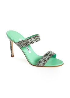 Manolo Blahnik 'Muluca' Slide Sandal (Women)