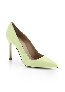 Manolo Blahnik Nappa Leather Point-Toe Pumps