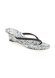 Manolo Blahnik 'Patwed' Wedge Sandal (Women)