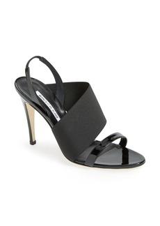 Manolo Blahnik 'Petto' Slingback Sandal (Women)