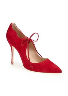 Manolo Blahnik 'Refolado' Pointy Toe Pump (Women)