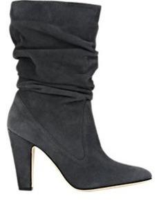Manolo Blahnik Ruched Artesina Boots