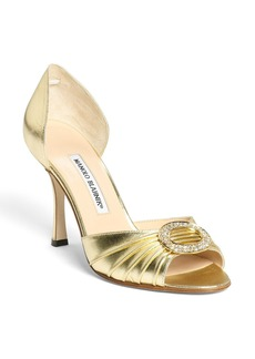 Manolo Blahnik 'Sedaraby' Open Toe d'Orsay Pump (Women)