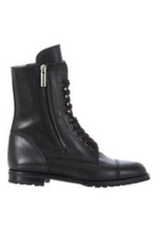 Manolo Blahnik Side-Zip Campcha Boots
