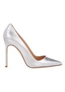 Manolo Blahnik Snakeskin BB Pumps