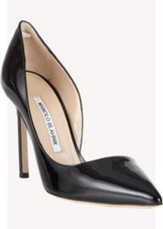 Manolo Blahnik Stresty Half d'Orsay Pumps