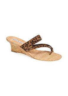 Manolo Blahnik 'Susa' Wedge Sandal
