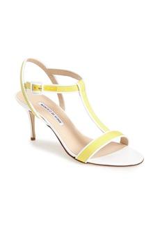 Manolo Blahnik T-Strap Sandal (Women)