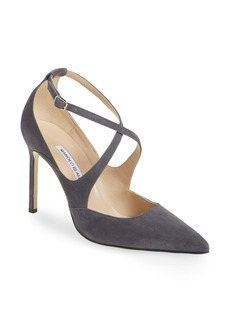 Manolo Blahnik 'Tugia' Pointy Toe Pump (Women)