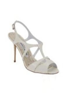 Manolo Blahnik Worty Cutout T-strap Sandals