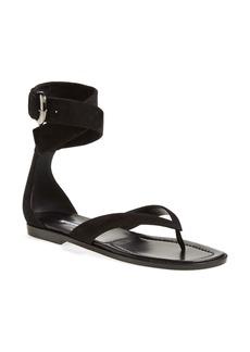 Manolo Blahnik 'Zolia' Ankle Wrap Sandal (Women)