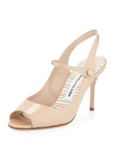 Tegna Patent Mary Jane Pump, Nude   Tegna Patent Mary Jane Pump, Nude