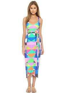 Mara Hoffman Back Cutout Wrap Dress