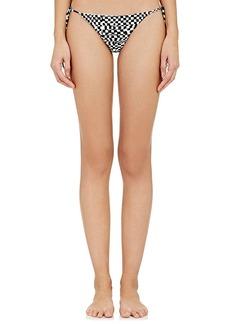 Mara Hoffman Beaded Side-Tie Bikini Bottom