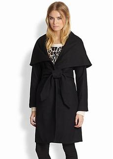 Mara Hoffman Belted Shawl-Collar Coat