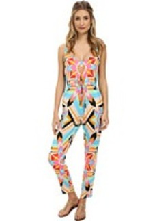 Mara Hoffman Button Front Jumpsuit