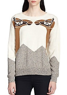 Mara Hoffman Camel-Patterned Sweater