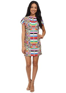 Mara Hoffman CDC Cap Sleeve Tunic Dress