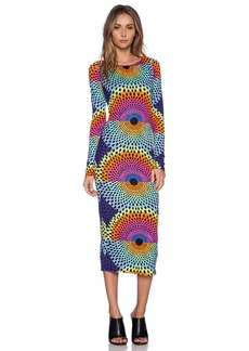 Mara Hoffman Column Cut Out Back Dress