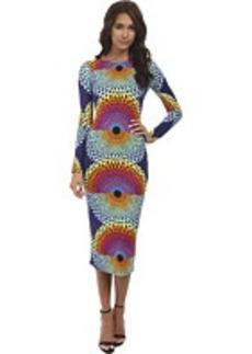 Mara Hoffman Column Cutout Dress