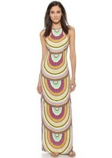 Mara Hoffman Column Maxi Dress
