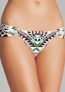 Mara Hoffman Cosmic Fountain Ruched Side Bikini Bottom