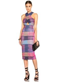 Mara Hoffman Criss Cross Midi Dress