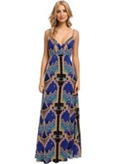 Mara Hoffman Cross Over Slip Gown