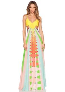 Mara Hoffman Cut Out Maxi Dress