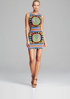 Mara Hoffman Cutout Cover Up Mini Dress